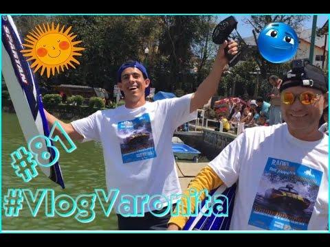 Las lanchas de radio control en los Los lagos Xalapa #VlogVaronita #81