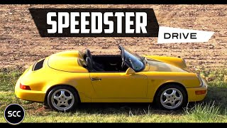 Porsche 911 964 Speedster 1993 - Test drive in top gear | SCC TV