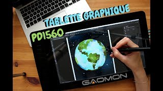 TEST - Tablette Graphique GAOMON PD1560