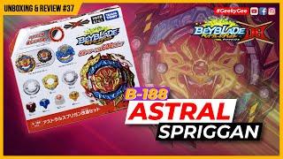 ASTRAL SPRIGGAN!!! Unboxing & Review   B188 Beyblade Burst Dynamite Battle ベイブレードバースト