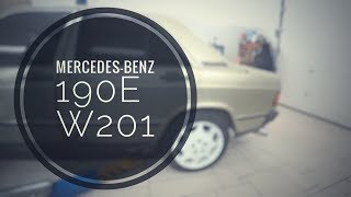 Mercedes 190Е | Диагностика двигателя, ремонт глушителя, замена пружин