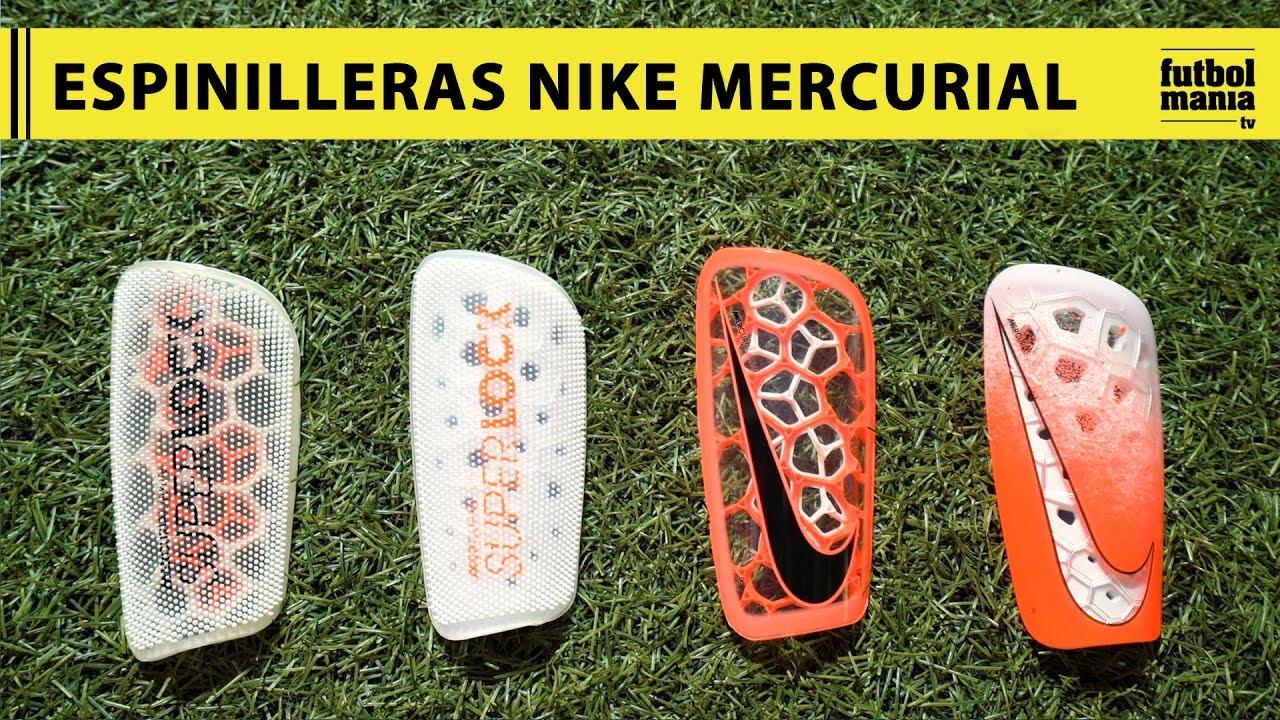 Y equipo zoo Incierto  Espinilleras Nike Mercurial - YouTube