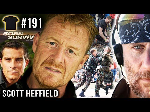The Royal Marine Who Protects BEAR GRYLLS   Scott Heffield Royal Marines   Born Survivor