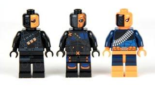 Lego Deathstroke Minifigure Review