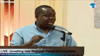 Fred Matiang'i: We will support more women to take up senior positions in the security sector