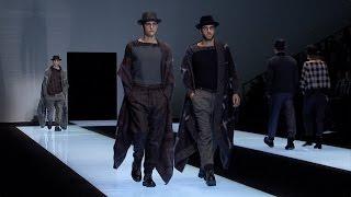 Giorgio Armani - 2016 Fall Winter Menswear Collection