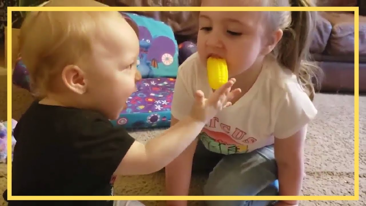 Funny Babies Laughing With Their Toys - CutenessOverload