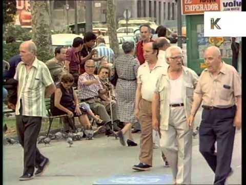 Early 1980s Barcelona, Spain, Street Scenes
