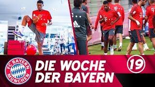 Die Woche der Bayern: Alaba & Gnabry steigen in die Vorbereitung ein | Ausgabe 19