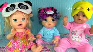 Куклы Пупсики ДНЕВНОЙ СОН ДЕВОЧЕК Мультик с игрушками  Играем в Куклы