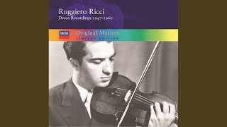 Ravel: Tzigane - Concert Rhapsody for Violin and Orchestra