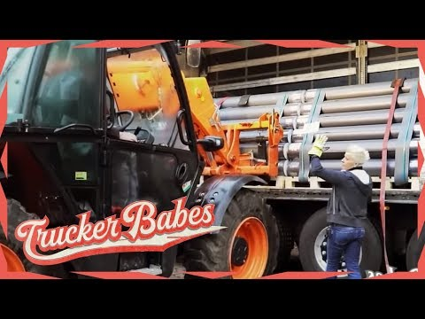 Jana gibt Männern Nachhilfe beim Abladen: Schießt sie sich ins Aus? | Trucker Babes | kabel eins