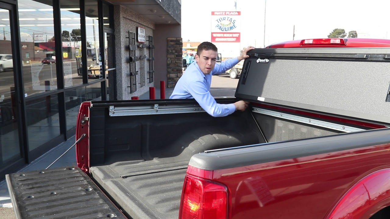 Nissan Frontier Truck Bed Cover Bakflip Mx4 Hard Folding Tonneau Covers Youtube