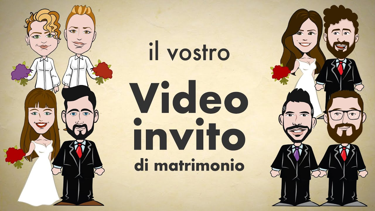 Partecipazioni Matrimonio Whatsapp.Video Invito Partecipazione Di Matrimonio Studioartesia It