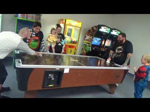 Prize Zone Arcade Air Hockey Family Fun