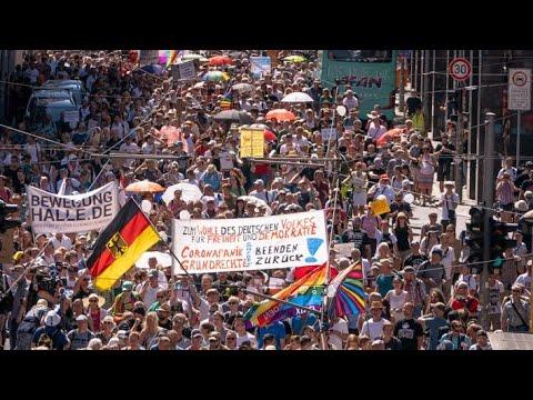 Gekündigt wegen Corona-Demo - Gewerkschaftsvorsitzender Oliver Hilburger und Gerald im Interview