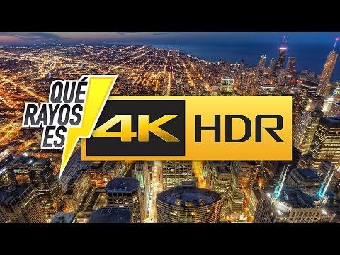 ¿Qué rayos es el 4K y el HDR?