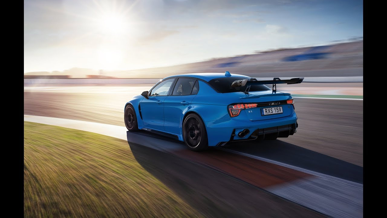 The 528-hp Lynk & Co Cyan Concept - A race car for the road - YouTube
