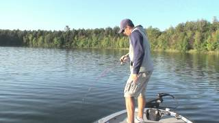 Split Shot Rig for Deep Water Smallmouth Bass