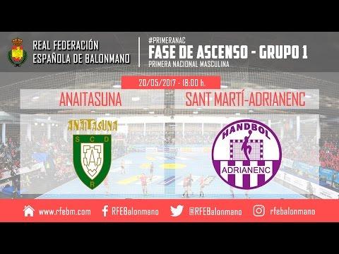 Ascenso a Plata Masculina (Alicante) | Anaitasuna 'B' : Sant Martí-Adrianenc