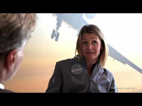 Ambassadeur : Aude Lemordant - Salon du Bourget 2019 - Dassault Aviation