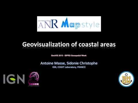 Geovisualization of coastal areas