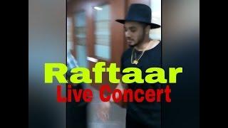 Raftaar live show in bhopal tit college