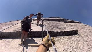 Half Dome Cables - Yosemite National Park - Ascending - June 3, 2013
