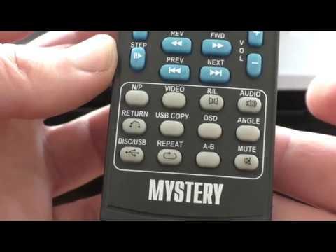 DVD плеєр  Mystery Electronics MDV-728U (Розпаковка) з Rozetka.com.ua
