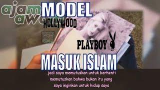 Cover images Model Pleboy Holiwud MASUK ISLAM!