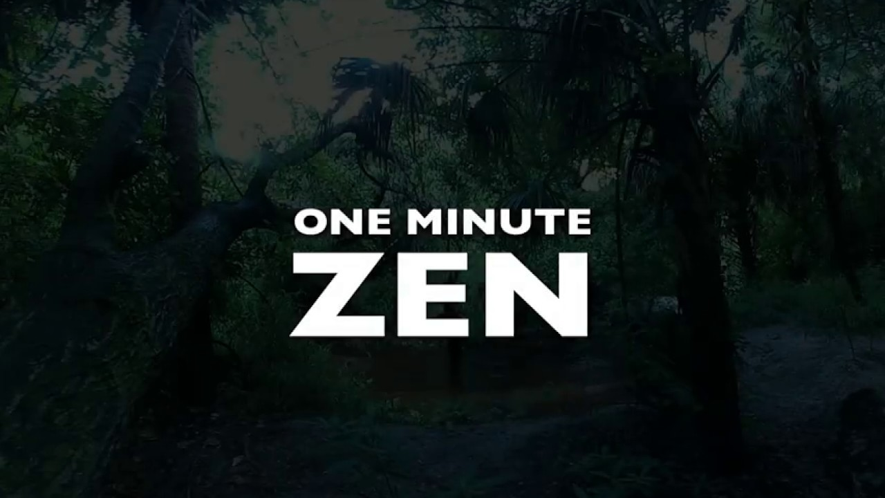 One Minute Zen in 360°