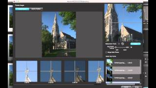 HDR Expose 3 Merge Process -- Auto & Manual Alignment