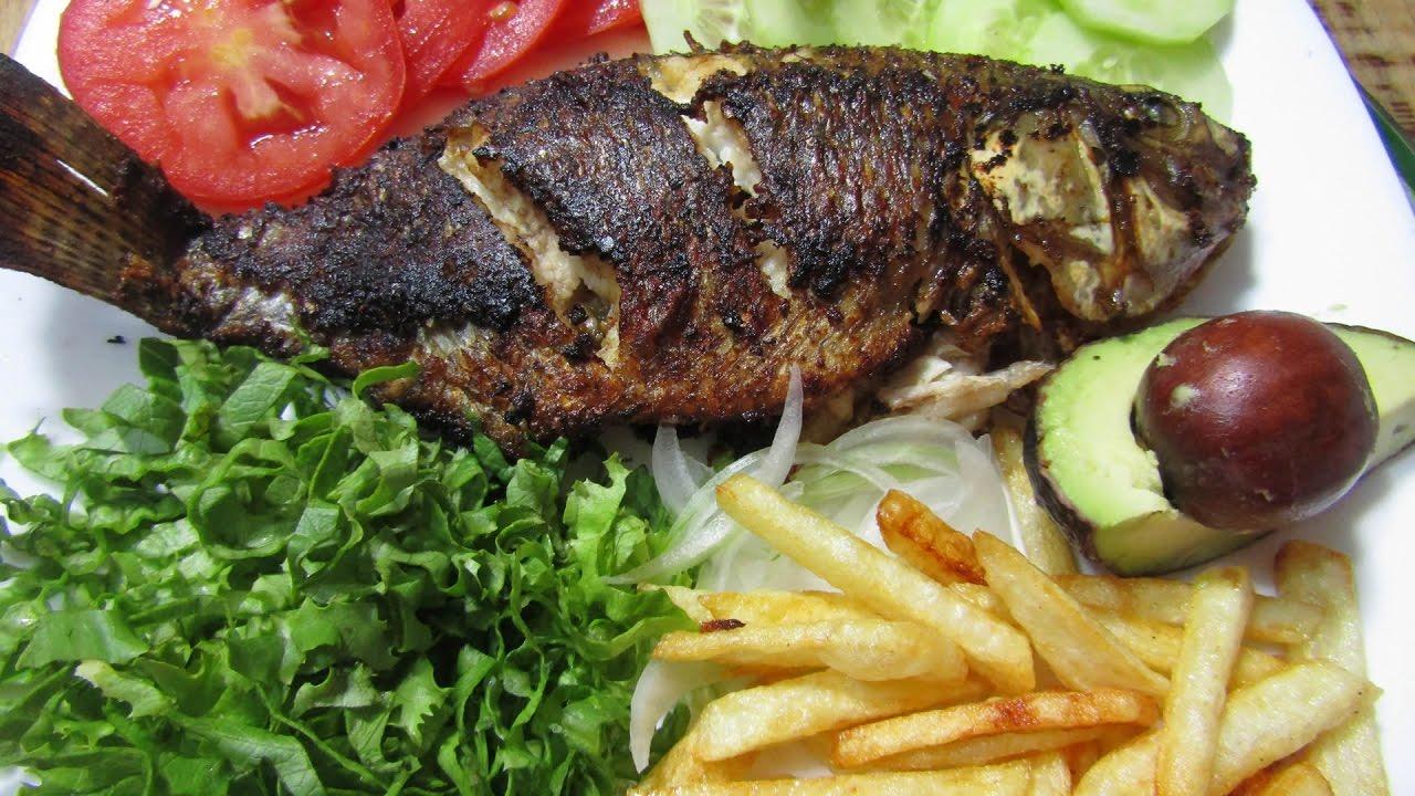 Mojarras al mojo de ajo pescado frito recetas para for Proyecto de criadero de mojarras