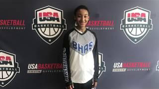 Taja Colbert 14u USA Basketball National Tournament highlights