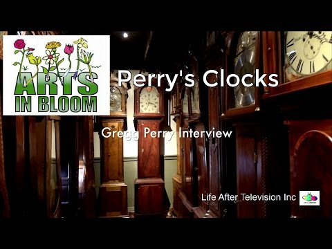 Perry's Clocks - Salem County Arts in Bloom 2017