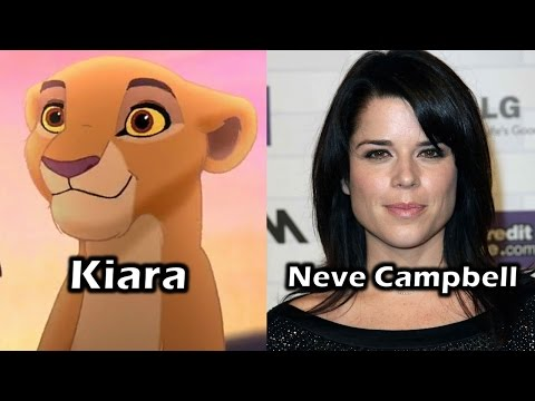 Characters and Voice Actors - The Lion King II: Simba's Pride