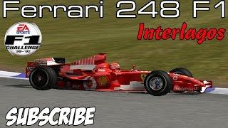 [F1C] Scuderia Ferrari Marlboro 248 F1 @ Interlagos with Michael Schumacher (Mod TR 2006)