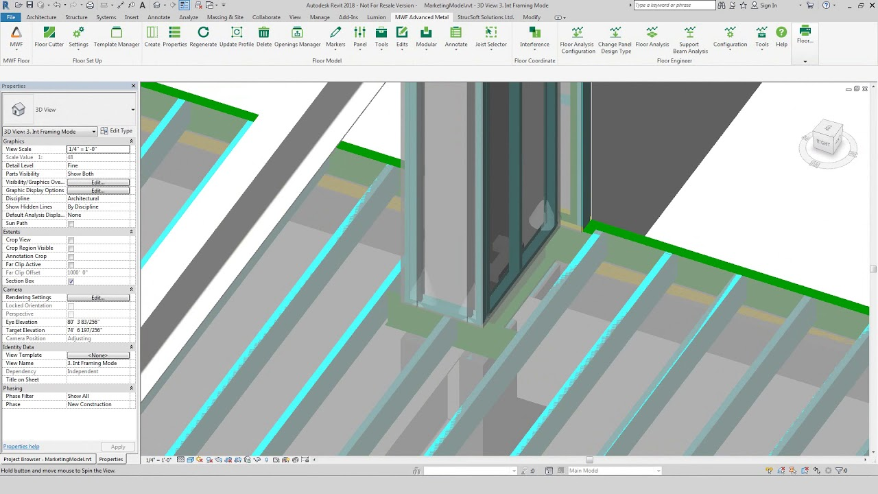 Steel Frame Revit Engineering App Strucsoft Solutions