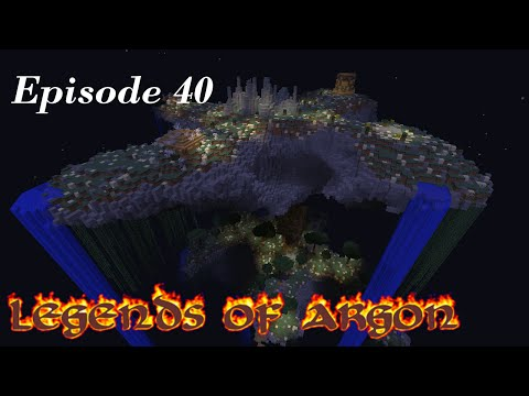 Minecraft Let's Play: Legends of Argon ep 40 Intersection 4!