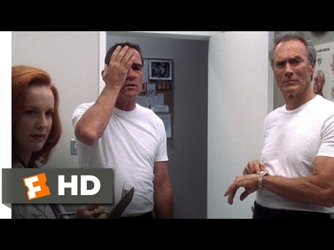 Space Cowboys (3/10) Movie CLIP - The Eye Test (2000) HD