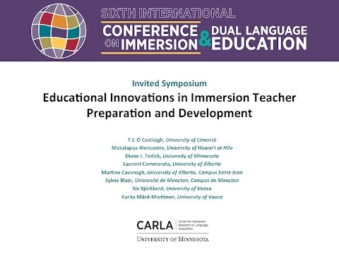 Educational Innovations in Immersion Teacher Preparation and Development