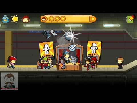 Royal Plays: Scribblenauts Ep5 - Listen Doug Funnie did it with a Trash Can