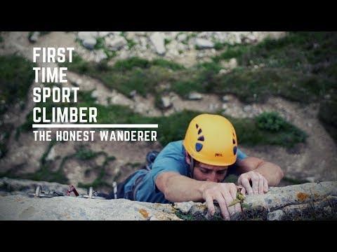 THE HONEST WANDERER - First Time Sport Climber
