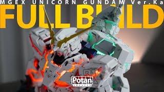 The 100 Hours -   Painted This 250 Gunpla MGEX Unicorn Gundam Ver.Ka 地獄の所業 MGEX ユニコーンガンダム ガンプラ全塗装