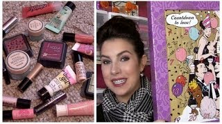Benefit Countdown to Love Advent Calendar Review