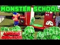 Monster School: Baby Creeper Escape Challenge - Minecraft Real Life Animation