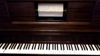 Old Player Piano Silent Movie Picturoll Mood Music Hurry,Bright, Chase Comedy