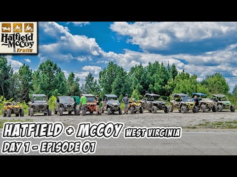 UTV/ATV Trail Riding on the Hatfield & McCoy Trails in West Virginia - Day 1 - Episode 01 #TeamAJP