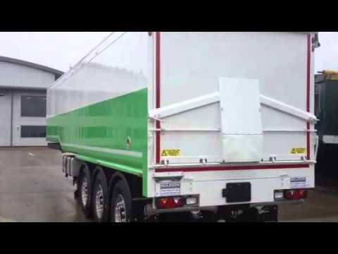 10127 Muldoon Blower trailer for Sale www.newtontrailers.com