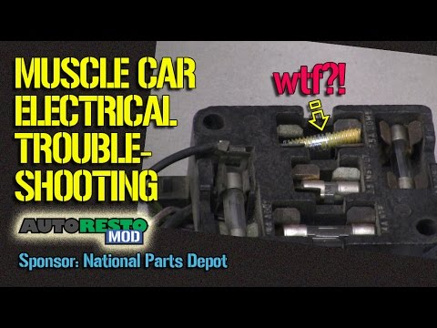 hqdefault muscle car electrical wiring troubleshooting tricks and tips  at edmiracle.co